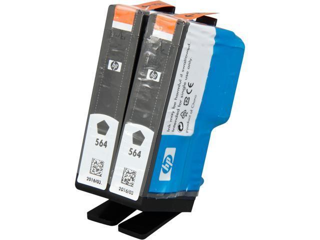 HP 564 (C2P51FN#140) Ink Cartridges; Black