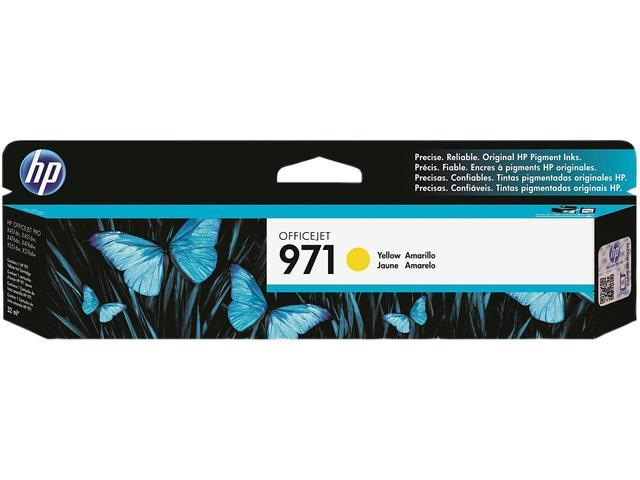 HP 971 CN624AM Ink Cartridges Yellow