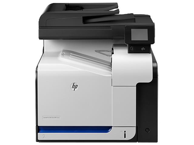 HP LaserJet Pro 500 MFP M570dn MFC / All-In-One Up to 31 ppm 600 x 600 dpi Color Print Quality Color Laser Printer
