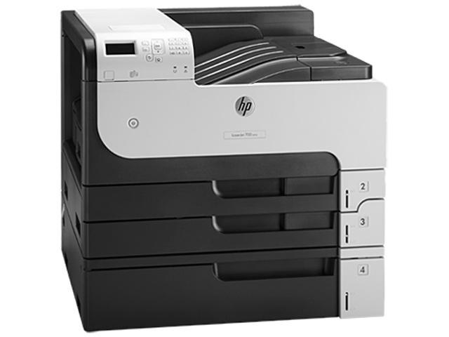 Hp Factory Recertified Laserjet Enterprise M712xh Printer 40 ppm 1200 x 1200 dpi 1100-Sheet Duplex 512MB E-Print/Gbe/USB 11