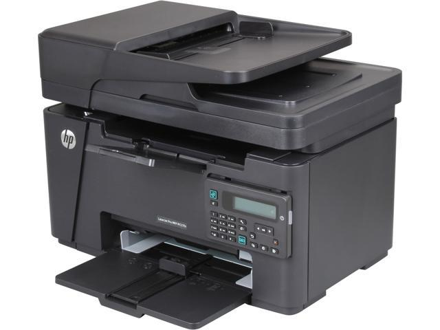 HP LaserJet Pro M127fn (CZ181A) Up to 21 ppm 600 x 600 dpi USB/Ethernet/Mobile Monochrome All-in-One Laser Printer