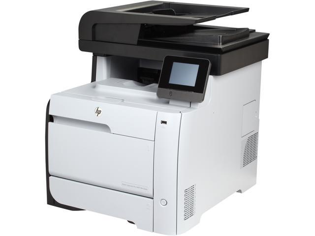 HP LaserJet Pro M476dw (CF387A) Up to 21 ppm 600 x 600 dpi Duplex Wireless Color All-in-One Laser Printer