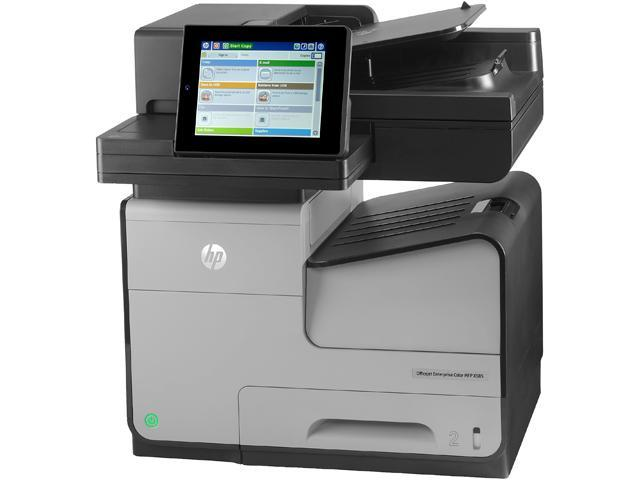 HP Officejet Enterprise X585f Up to 42 ppm Black Print Speed Up to 2400 x 1200 optimized dpi from 600 x 600 input dpi (on HP Advanced Photo Papers) Color Print Quality InkJet MFP Color Printer