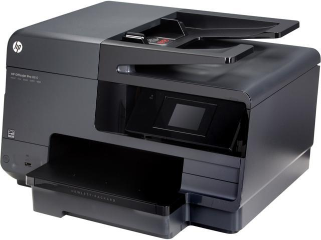 HP 8610 Up to 19 ppm (ISO) Up to 31 ppm (Draft) Black Print Speed 4800 x 1200 dpi Color Print Quality HP Thermal Inkjet ...