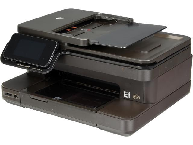 HP Photosmart Photosmart 7520 e-AIO Up to 34 ppm Black Print Speed 9600 x 2400 dpi Color Print Quality Wireless InkJet MFC / All-In-One Color Printer