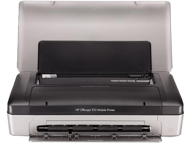 HP Officejet Officejet 100 Up to 22 ppm Black Print Speed 4800 x 1200 dpi Color Print Quality Wireless InkJet Mobile Color Printer