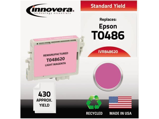Innovera 848620 Compatible Remanufactured T048620 Ink Light Magenta