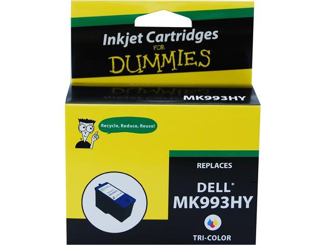 Ink for Dummies DD-MK993HY 3 Colors Ink Cartridge Replaces Dell Series 9 (MK993)