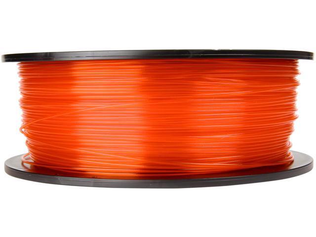 Makerbot MP05187 Translucent Orange 1.75mm PLA plastic Filament