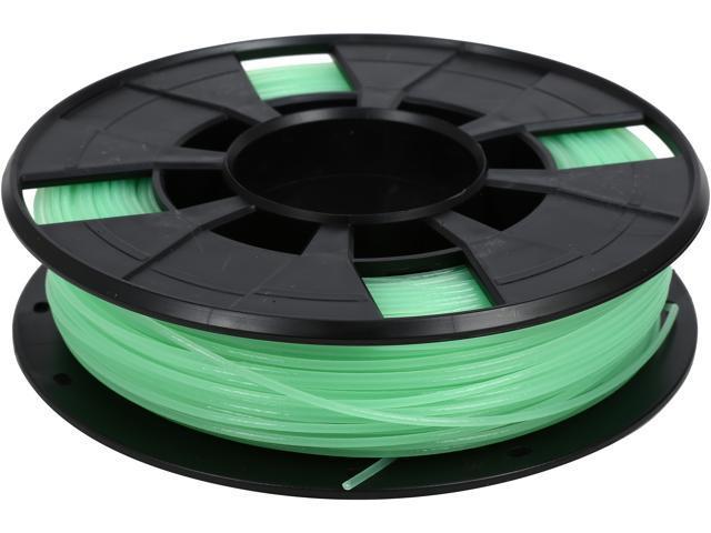 Makerbot MP05795 Glow in the Dark 1.75mm Spool Diameter: 15.0 cm (5.90 in) Spool Width: 4 cm (1.57 in) Spool Hub Hole: 5.08 cm (2 in) PLA plastic Filament
