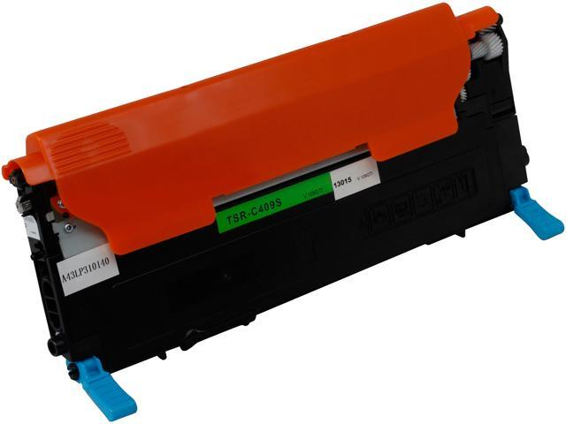 Green Project Compatible Samsung C409S Cyan Toner Cartridge