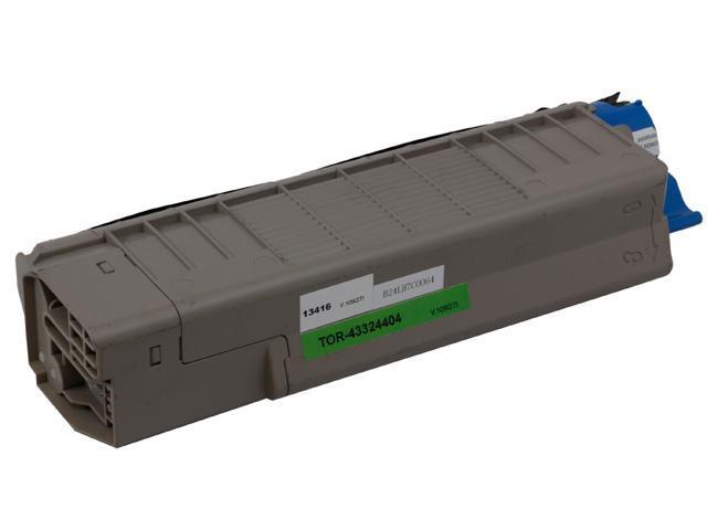 Green Project Compatible Minolta 43324404 Black Toner Cartridge