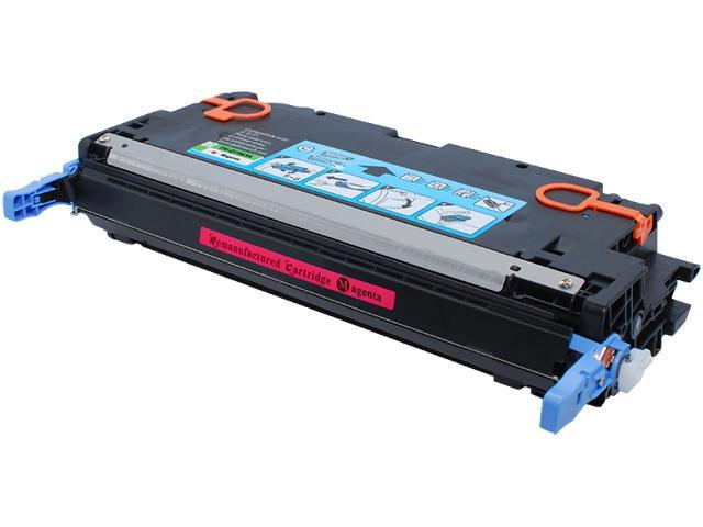 Green Project Compatible HP Q7563A Magenta Toner Cartridge