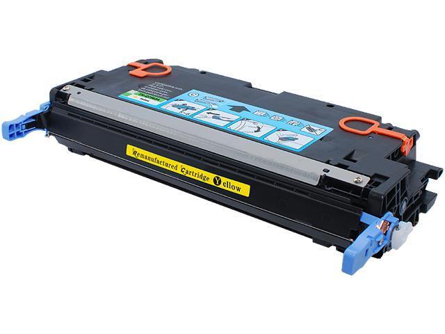 Green Project Compatible HP Q7562A Yellow Toner Cartridge