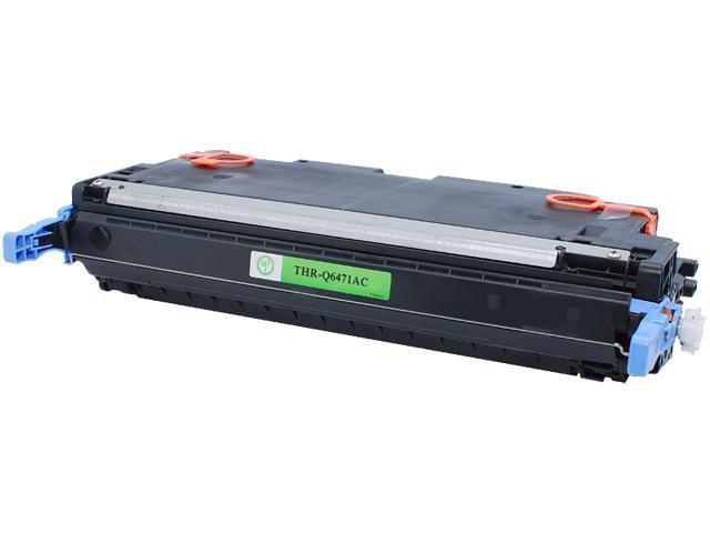 Green Project Compatible HP Q6471A Cyan Toner Cartridge