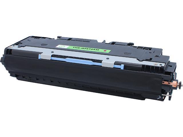 Green Project THR-Q2673AM Compatible HP Q2673A Magenta Toner Cartridge