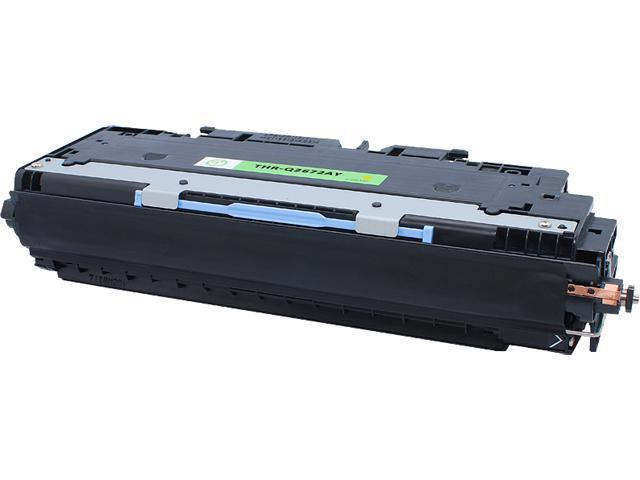 Green Project Compatible HP Q2672A Yellow Toner Cartridge