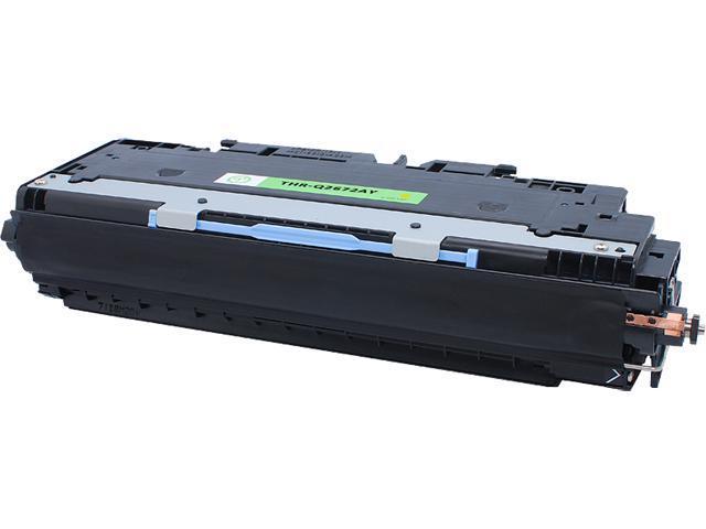 Green Project Compatible HP Q2672A Yellow Toner Cartridge