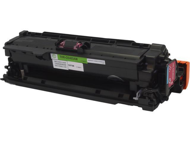 Green Project Compatible HP CE403A Magenta Toner Cartridge