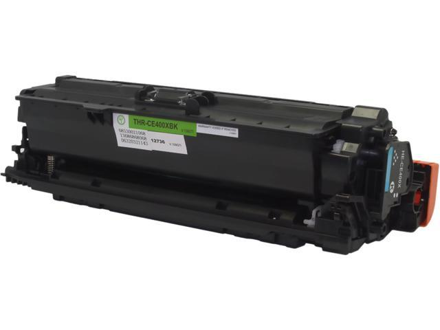 Green Project Compatible HP CE400X Toner Cartridge