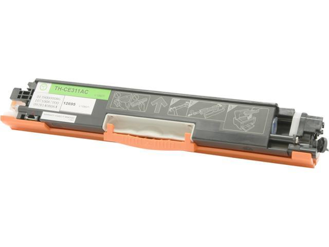 Green Project Compatible HP CE311A Cyan Toner Cartridge