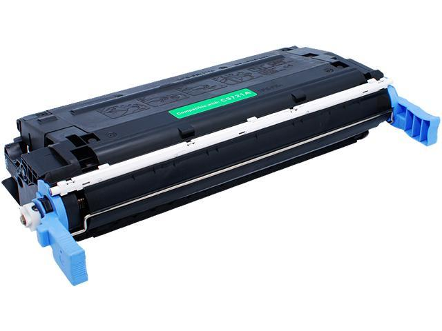 Green Project THR-C9721AC Compatible HP C9721AC Cyan Toner Cartridge