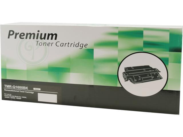 Green Project TMR-Q1600BK Toner Minolta Reman Q1600 Black