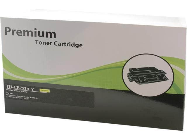 Green Project TH-CE252AY Compatible HP CE252A Yellow Toner Cartridge