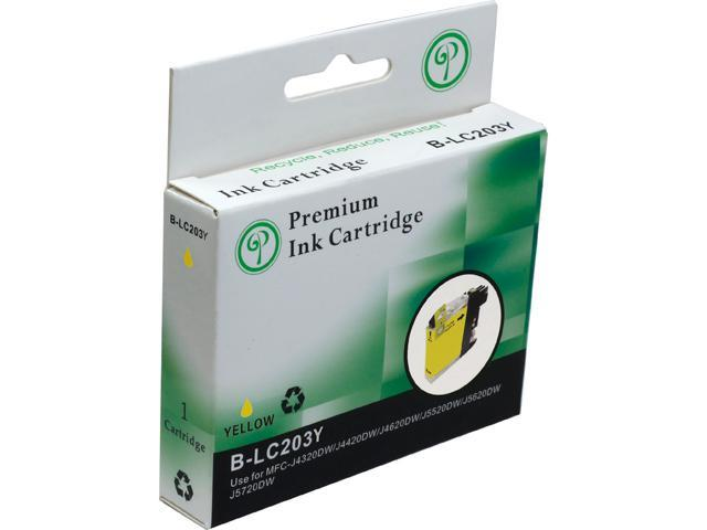 Green Project B-LC203Y Compatible Brother LC 203 Yellow