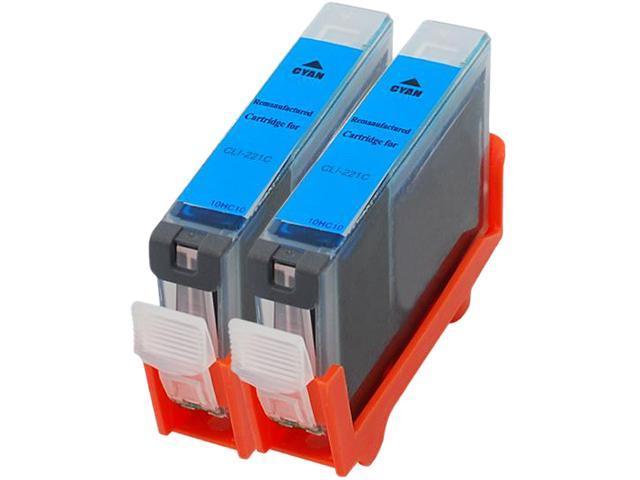 Green Project C-CLI221CR Cyan Ink Cartridge