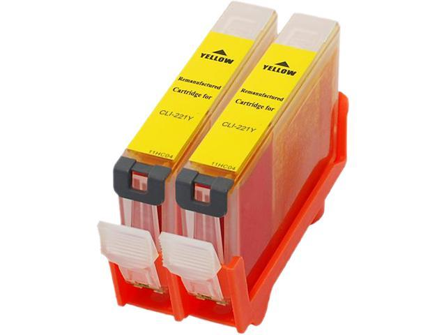 Green Project C-CLI221YR Yellow Ink Cartridge