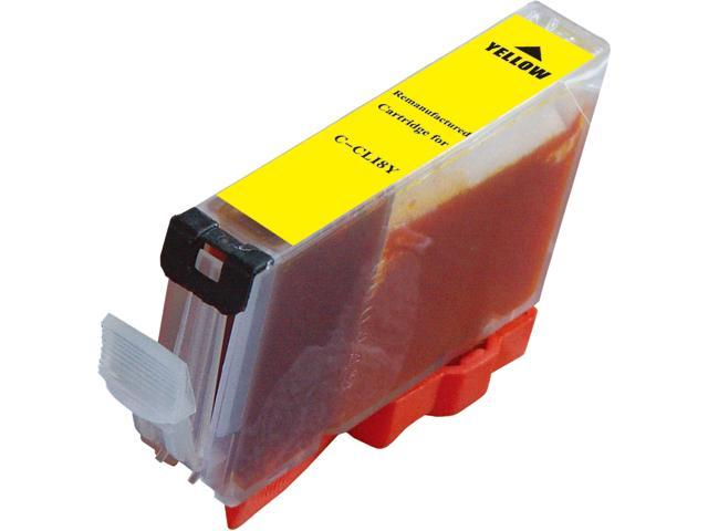 Green Project C-CLI8Y Yellow Ink Cartridge