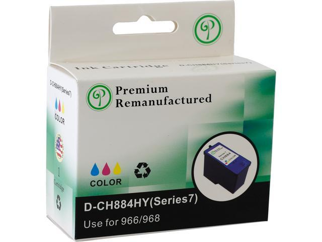Green Project D-CH884HY Compatible Inkjet Dell CH884HY Color