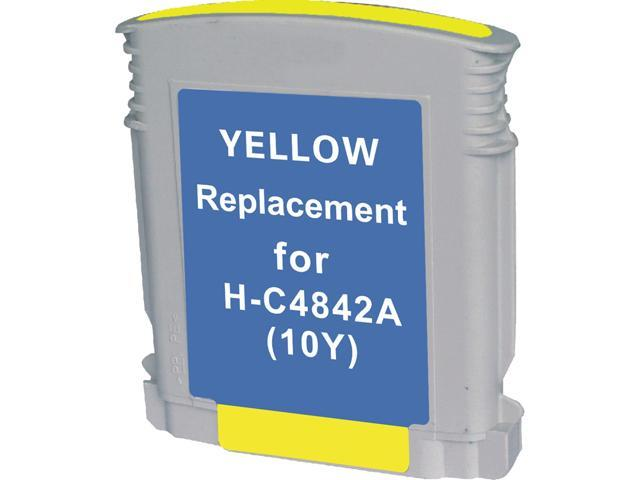 Green Project H-10Y(C4842A) Yellow Ink Cartridge