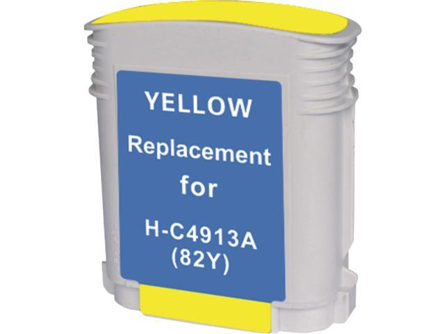 Green Project Compatible HP 82 Yellow