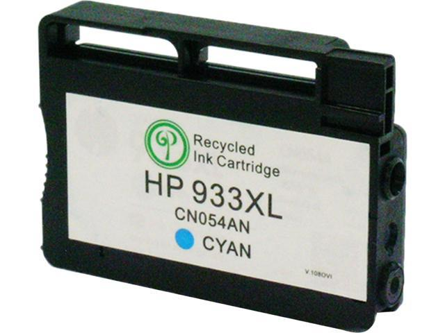 Green Project Compatible HP 933 Cyan High Yield