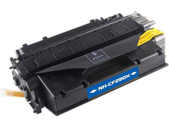 G & G NT-PH280XC High Yield Black Laser Toner Cartridge Replaces HP CF280X HP 80X