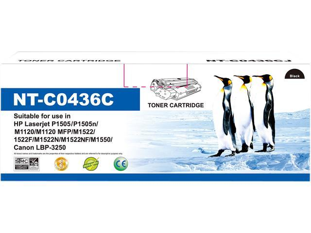 G&G NT-C0436 Black Toner Replaces HP 36A CB436A