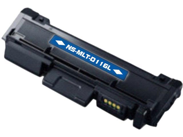 G&G NS-MLT-D116L Black Toner Replaces Samsung MLT-D116L