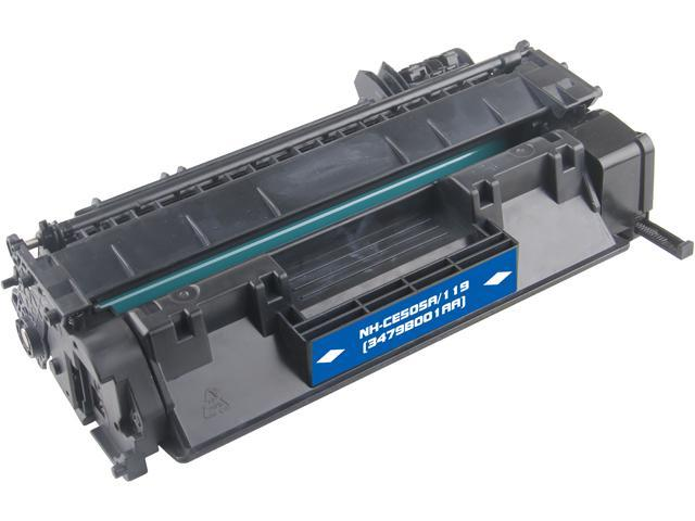 G & G NT-PH505C Black Laser Toner Cartridge Replaces HP CE505A HP 05A