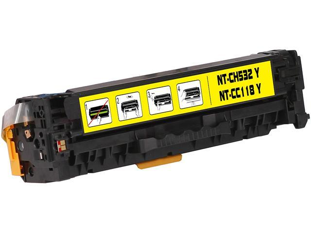 G & G NT-C0532Y Yellow Laser Toner Cartridge Replaces HP CC532A HP 304A, Canon 118 / 659B001AA