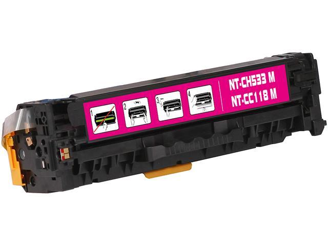 G & G NT-C0533M Magenta Laser Toner Cartridge Replaces HP CC533A HP 304A, Canon 118 / 660B001AA