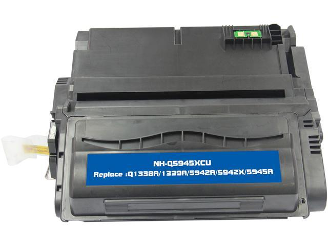 G & G NT-C5945XXU High Yield Black Laser Toner Cartridge Replaces HP Q1338A / 1339A / 5942A / 5942X / Q5945A