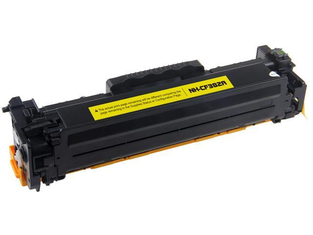 G & G NH-CF382A Yellow Laser Toner Cartridge Replaces HP CF382A 312A