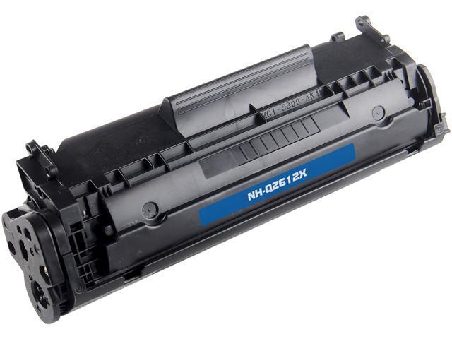 G & G NT-C2612X High Yield Black Laser Toner Cartridge Replaces HP Q2612X HP 12X
