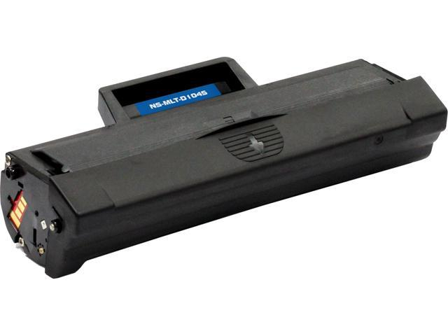 G&G NT-CS1660C Black Laser Toner Cartridge Replaces Samsung MLT-D104S for use in the ML-1665 Printer