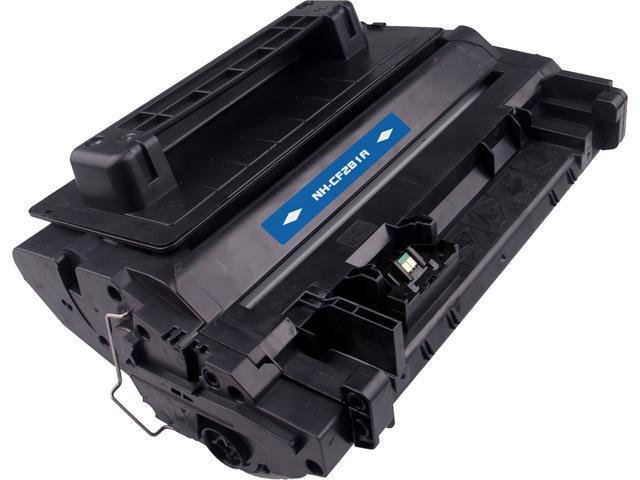G & G NH-CF281A Black Laser Toner Cartridge Replaces HP CF281A HP 81A
