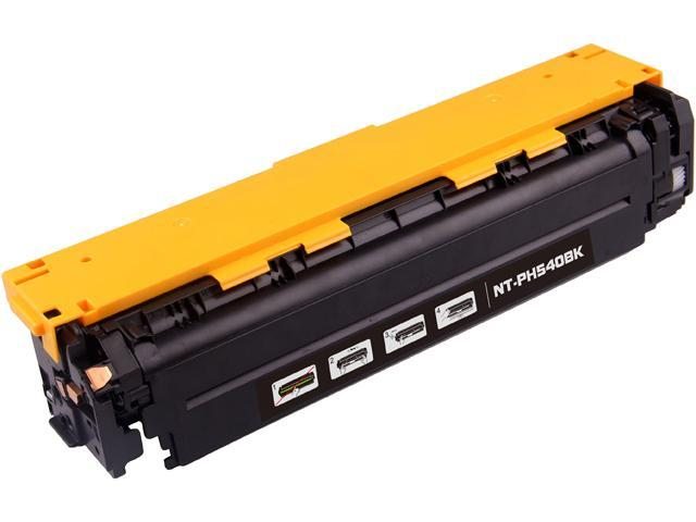 G&G NT-C0540BK Black Laser Toner Cartridge Replaces HP (Hewlett Packard) CB540A (125A), Canon 116 (1980B001AA)