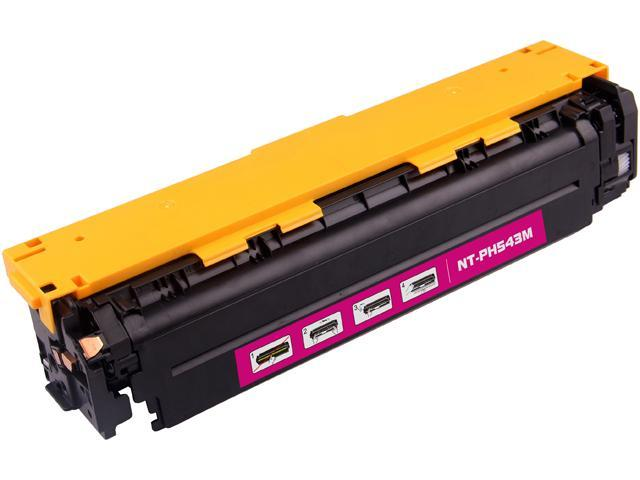 G&G NT-C0543M Magenta Laser Toner Cartridge Replaces HP (Hewlett Packard) CB540A (125A), Canon 116 (1978B001AA)
