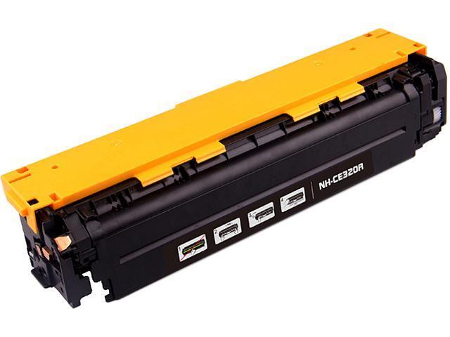 G&G NH-CE320BK Black Black Laser Toner Cartridge Replaces HP (Hewlett Packard) CE320A (128A)